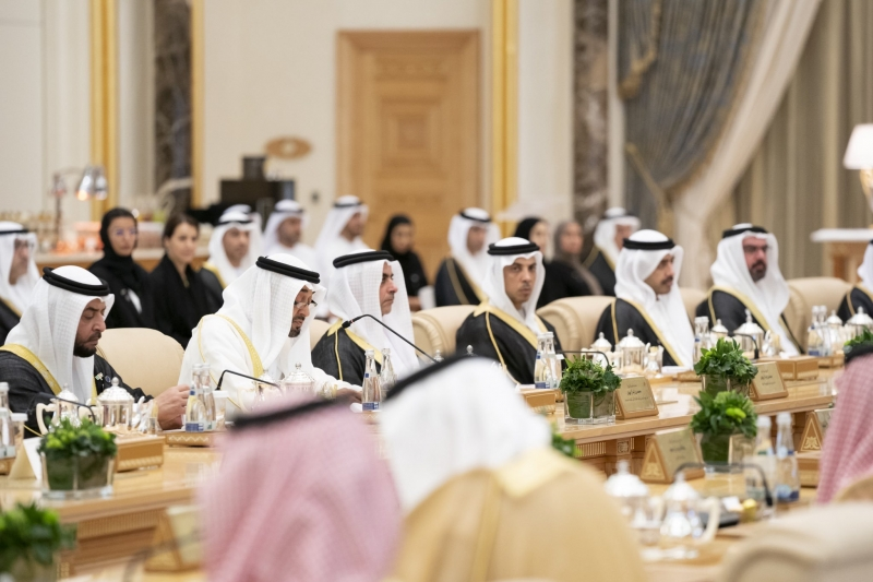 توقيع 4 اتفاقيات و7 مبادرات بحضور ولي العهد ومحمد بن زايد - المواطن