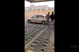 ضبط 3 مقيمين و252 عبوة مسكر في جدة - المواطن