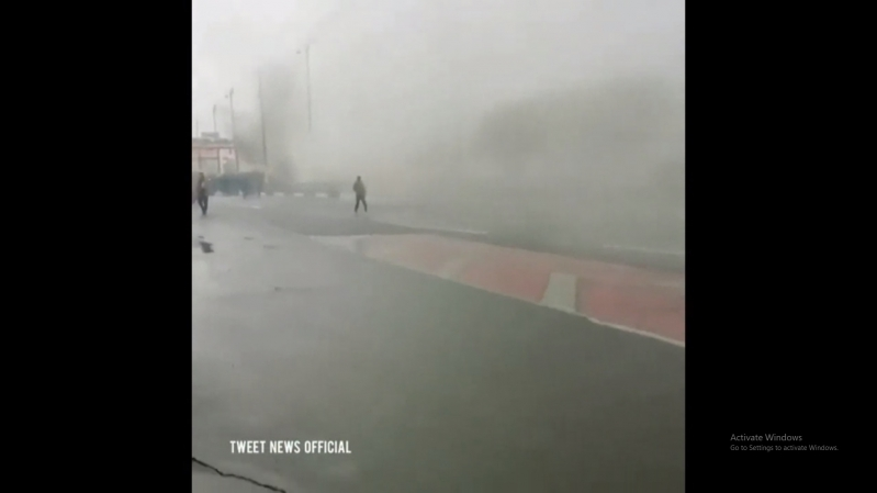 فيديو.. إحراق صورة المرشد والموت لخامنئي