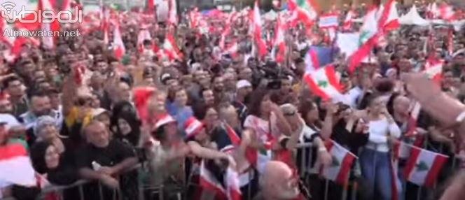 شاهد.. مظاهرات أحد الوحدة في بيروت