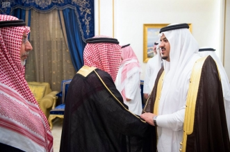 نائب أمير الرياض يعزي في وفاة سمو الأمير تركي بن عبدالله بن سعود