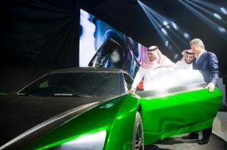 نائب أمير الرياض يفتتح معرض السيارات بالجنادرية 14