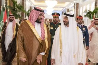 شاهد .. وصول الأمير محمد بن سلمان إلى أبو ظبي - المواطن