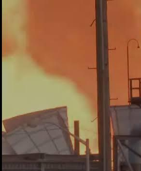 انفجار ضخم يهز مصنع كيماويات بأمريكا