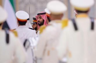 ولي العهد الأمير محمد بن سلمان في الإمارات 1