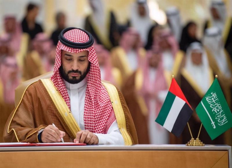 ولي العهد يدعو الإمارات لتحل ضيفًا على قمة العشرين - المواطن