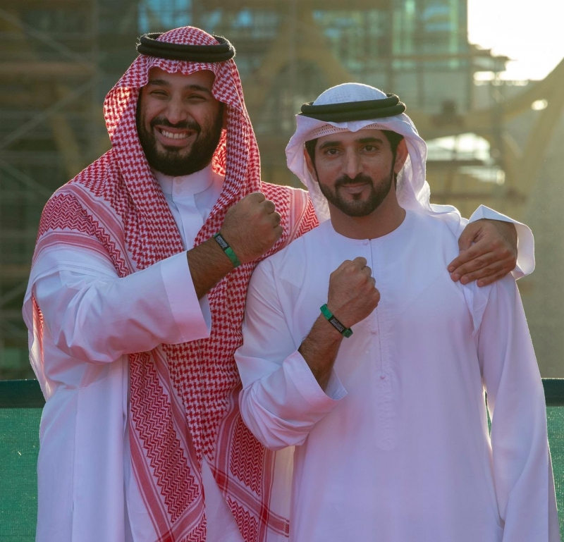 ولي العهد يزور معرض إكسبو 2020 بدبي - المواطن
