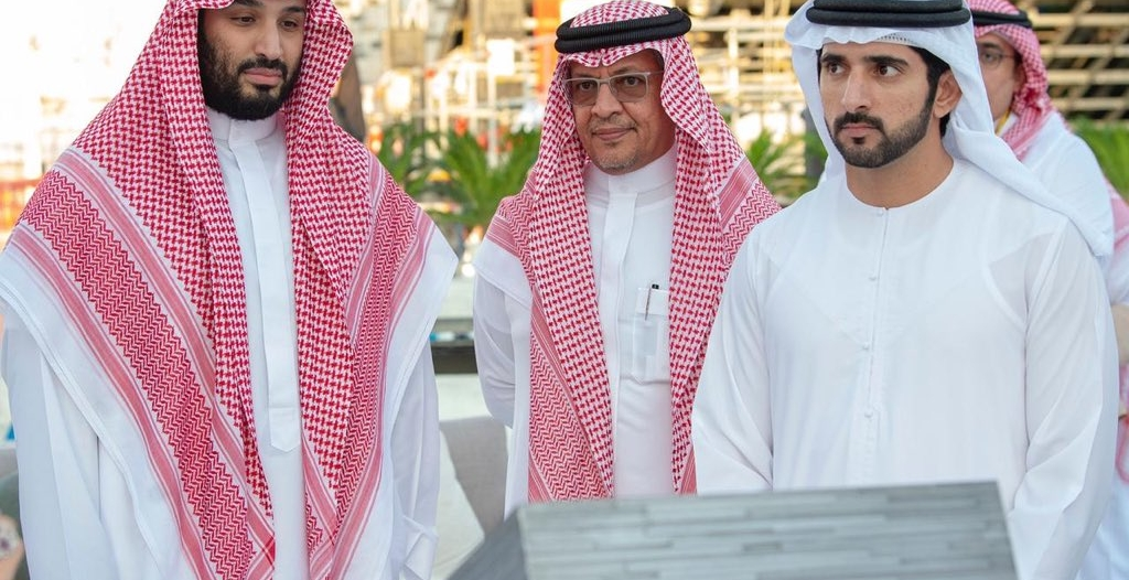 ولي عهد #دبي: فخورون بالدعم السعودي الكبير لـ إكسبو 2020