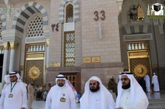 الشيخ السديس يدشّن مشروع ترقيم الأبواب بالحرم المكي - المواطن
