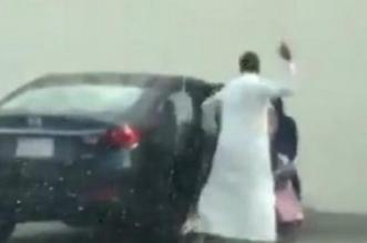 فيديو.. القبض على معنّف ابنته في جدة - المواطن