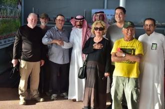 سياح أمريكيون يزورون مهرجان سمح الجوف - المواطن