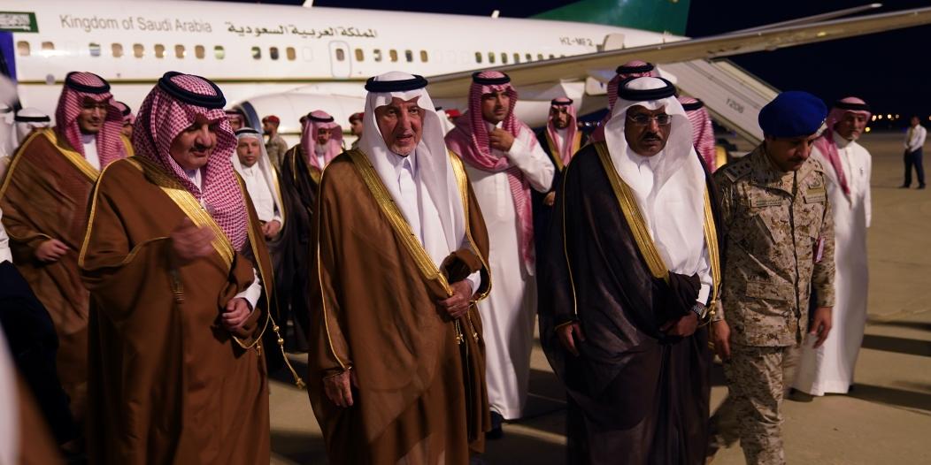 الفيصل يصل الظهران لإطلاق مؤتمر الفكر العربي