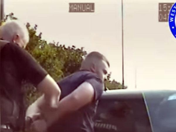 شاهد.. خدعة عجيبة من سائق متهور والشرطة تكشف الأمر!