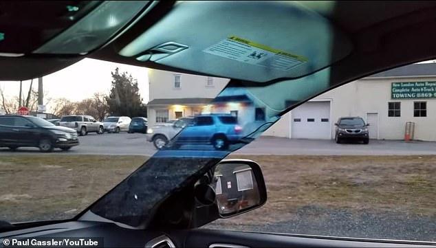 فيديو.. اختراع يقضي على النقطة العمياء في السيارة