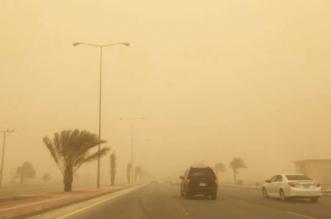 سحب وغبار يحجب الرؤية في نجران - المواطن
