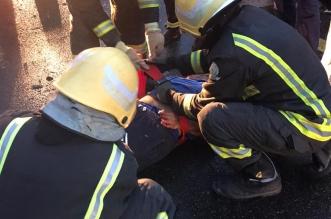 وفاة شخص سقطت صخرة على مركبته بالباحة - المواطن