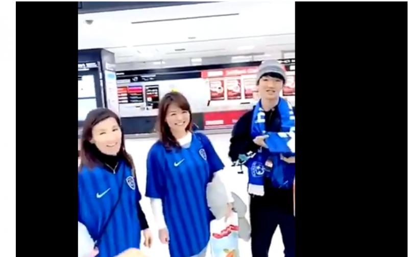 عشق #الهلال يصل إلى اليابان