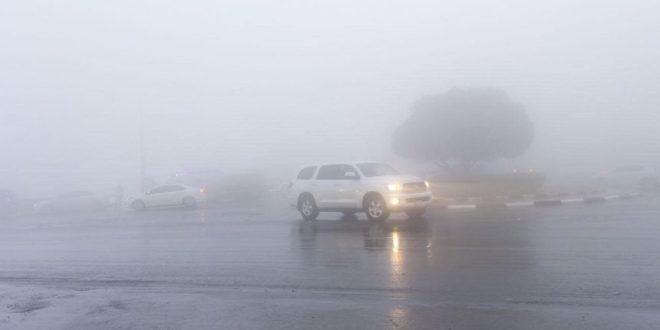 طقس الغد.. أمطار وغبار وضباب كثيف