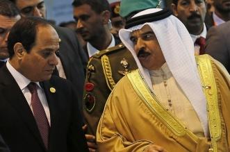 السيسي لملك البحرين: أمن الخليج جزء لا يتجزأ من أمن مصر - المواطن