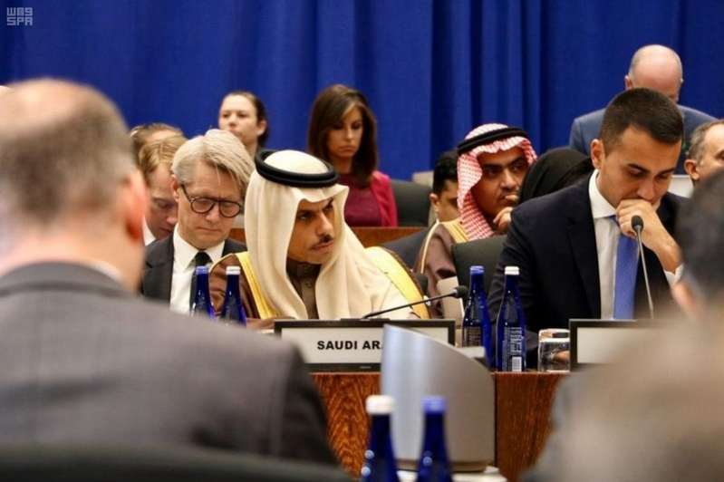 وزير الخارجية يرأس وفد المملكة باجتماع التحالف الدولي لمحاربة داعش