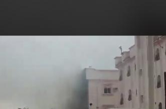 اختناق وإصابات في حريق بالباحة - المواطن