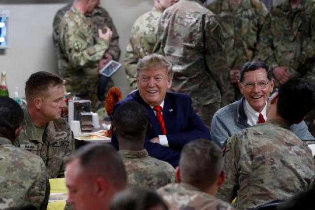 ترامب يزور #أفغانستان سرًا ويلتقي بالرئيس الأفغاني - المواطن