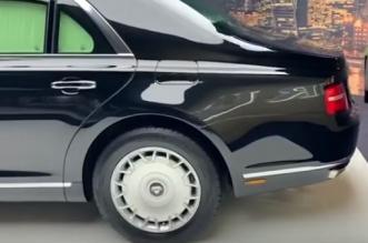 شاهد .. سيارة بوتين تشارك في مناورات عالية السرعة - المواطن
