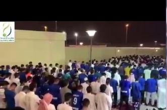 تلاوة خاشعة للقرآن قبيل مباراة الهلال - المواطن