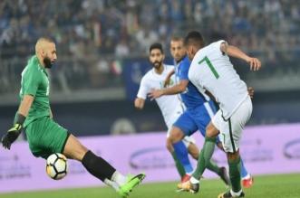مباراة السعودية والكويت
