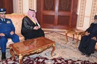 فيديو.. سلطان عُمان يستقبل الأمير خالد بن سلمان - المواطن