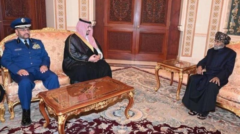 فيديو.. سلطان عُمان يستقبل الأمير خالد بن سلمان