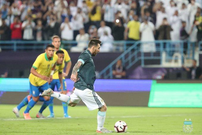 الأرجنتين تُسقط البرازيل وديًّا في الرياض - المواطن