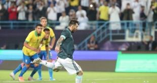 الأرجنتين تتقدم على البرازيل بهدف