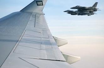مقاتلات إماراتية ترافق طائرة ولي العهد - المواطن
