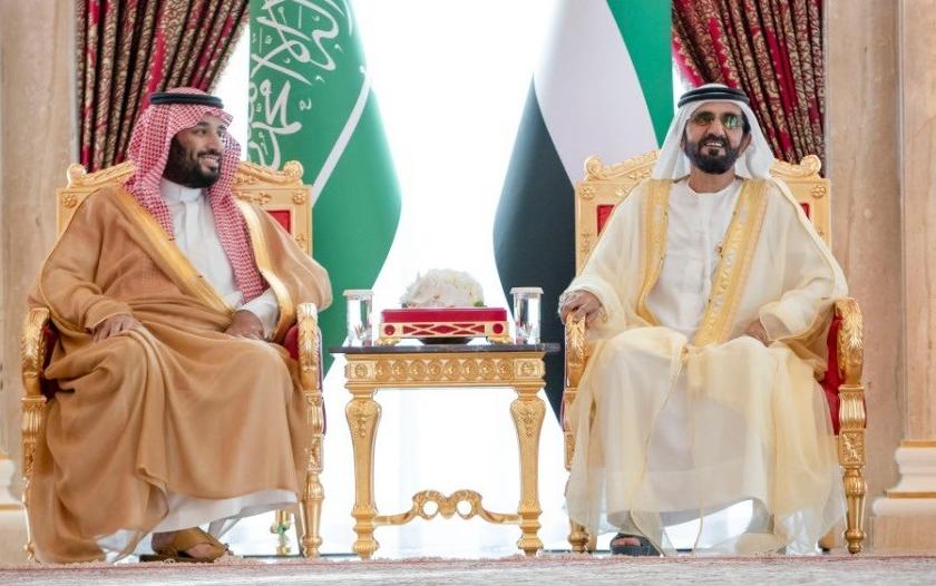 نائب رئيس #الإمارات: محمد بن سلمان يغير تاريخ المنطقة