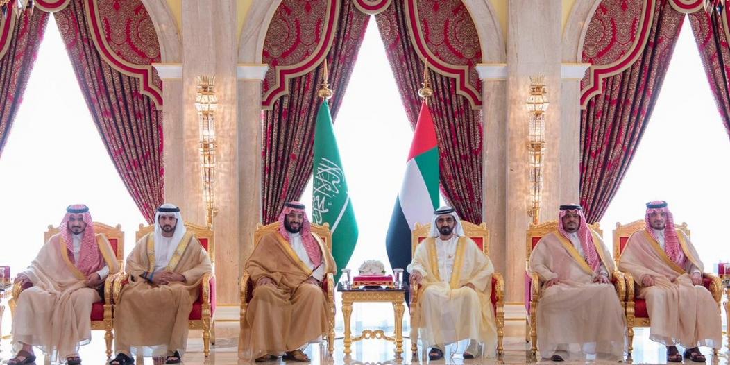 في قصر زعبيل.. محمد بن راشد يبحث العلاقات الثنائية مع ولي العهد