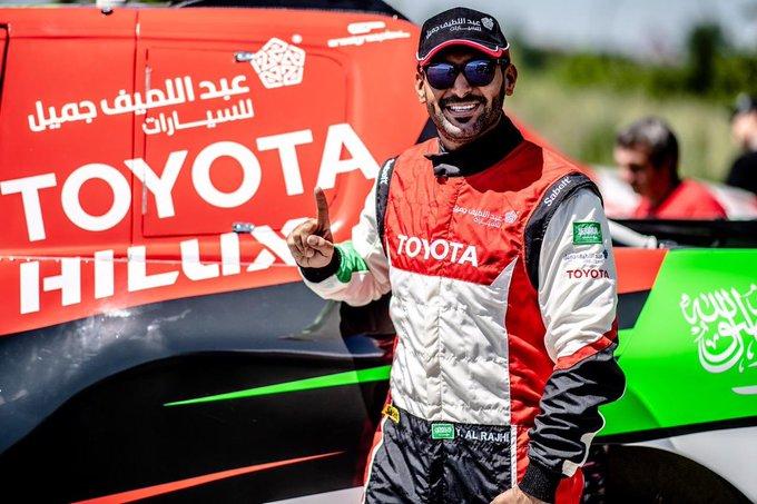 يزيد الراجحي بطلًا لـ رالي الرياض 2019