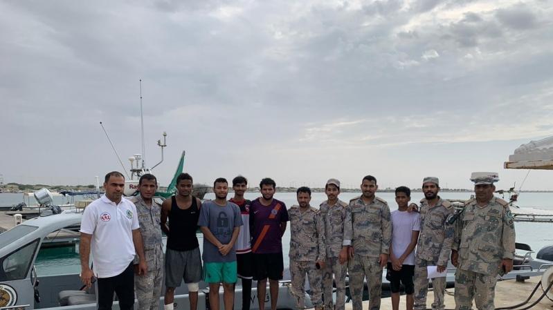 إنقاذ 6 أشخاص من الغرق بكورنيش الوسقة