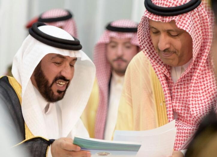 أمير الباحة يثمن جهود النادي الأدبي