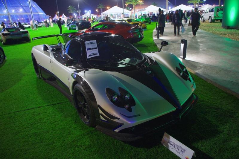 بيع باجاني بـ5.5 مليون دولار في معرض السيارات