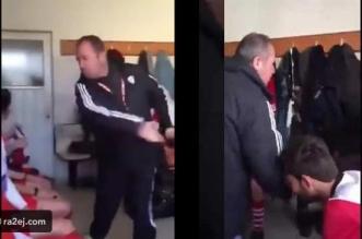 فيديو.. مدرب تركي يصفع لاعبيه بسبب أدائهم السيئ - المواطن