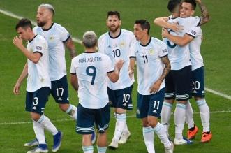ميسي يقود تشكيلة الأرجنتين - المواطن
