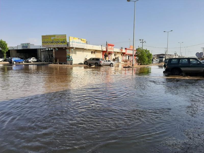 الأمطار تُغرق صناعية جازان منذ أسبوع والأمانة محلك سر! - المواطن