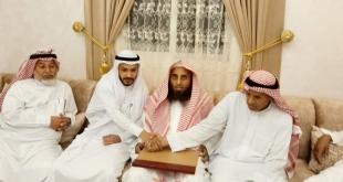 أحمد آل حيدر يحتفل بزواجه في جازان