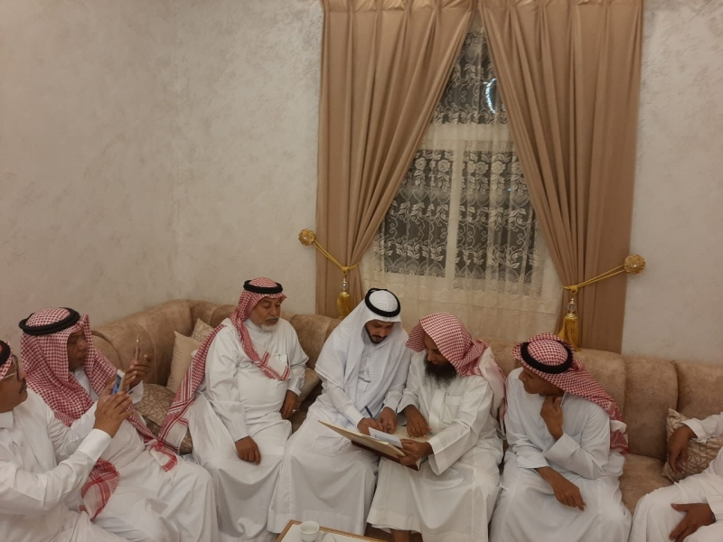 أحمد آل حيدر يحتفل بزواجه في جازان - المواطن