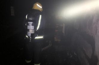 التماس يحرق منزلًا في نجران - المواطن