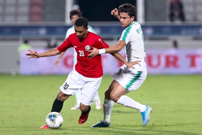 التعادل السلبي يُخيم على مباراة #العراق ضد #اليمن