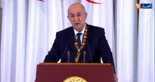 عبدالمجيد تبون يؤدي اليمين الدستورية رئيسًا للجزائر