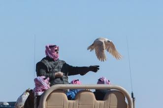 شاهد الصور .. تركي بن محمد بن فهد في رحلة مقناص - المواطن