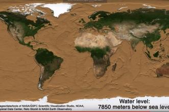 فيديو.. كيف ستبدو الأرض لو نضبت منها المياه؟ - المواطن